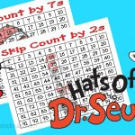 Dr. Seuss Skip Counting Worksheets