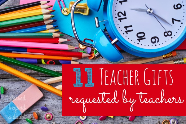 Teacher appreciation gifts don't have to be expensive. Find out what teachers really want for teacher appreciation week. Check out #11. It's my favorite daily tool as a teacher.   #ad #teacherappreciationgifts #teachergifts #swifferfanatic