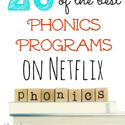 20 of the best Phonics Programs on Netflix