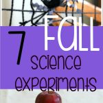 7 Fall Science Experiments that you don't want to miss!