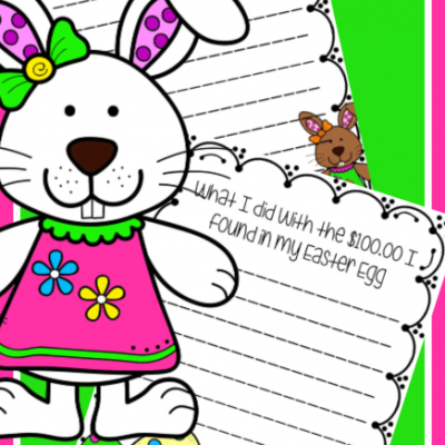 Free Easter Writing Prompts – Bunny edition
