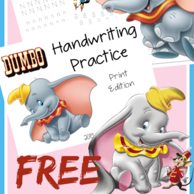Free Handwriting Resources – Dumbo Edition