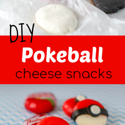 DIY Pokeball Cheese Snack – So easy