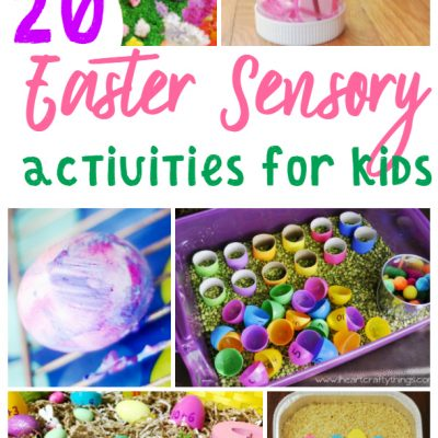 Over 20 Fun and Engaging Easter Sensory Activities