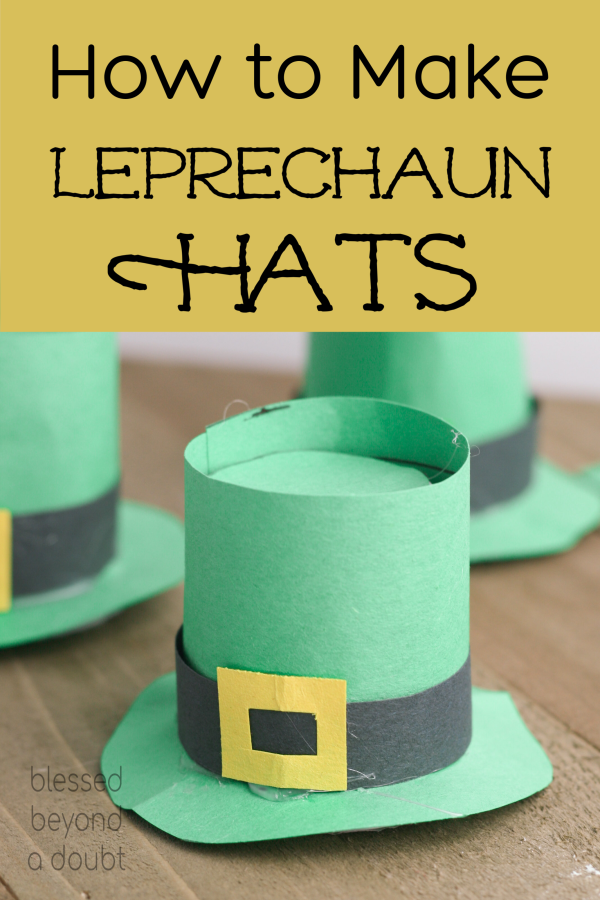 These K-Cup Leprechaun hats are so easy to make. They use supplies that you already have at home. Kid-Friendly St. Patrick's Day crafts are