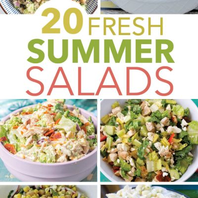 20 Easy Summer Salads That Will Impress Your Neighbors