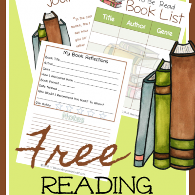 Free Reading Journal for the Intellectual Bookworm