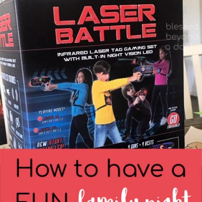 Laser Tag at Home – Oh MY!