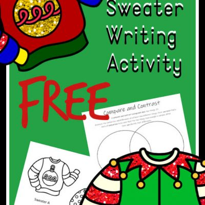 Ugly Christmas Sweater – FUN Christmas writing ideas