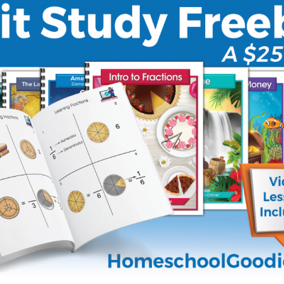 FREE $25 worth of Unit Studies for a Limited Time!