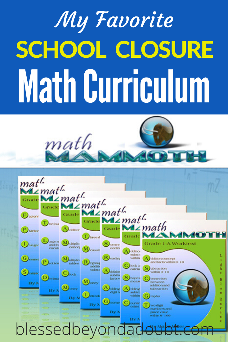 One of my favorite math curriculum for the mom who hates math. #mathworksheets #mathcurriulumhomeschool #schoolclosures #homeschool