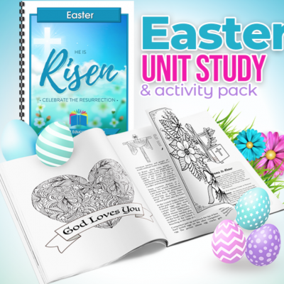 Free Easter Unit Study ($10.00 value)