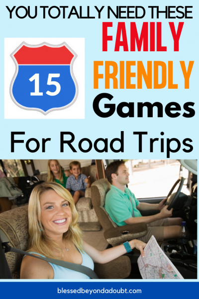 Here's a big list of FUN games to play on road trips. Check out how to keep your kids busy on road trips. No more fighting in the car. #roadtrips #roadtripcarrides #roadtripsthingstodo, #roadtripsfun #vacation