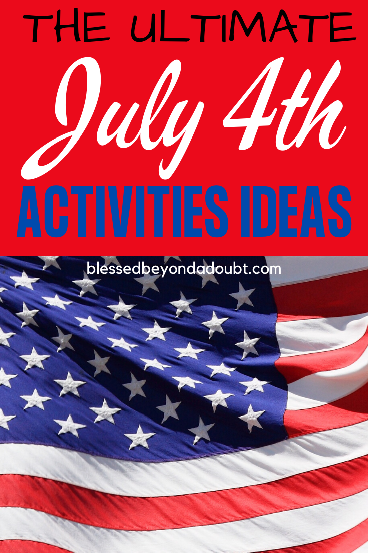The best list of 4th of July activity for kids. It will keep them entertained for hours. #4thofjulyactivitiesforkids, #4thofjulyactivitiesforkidslearning, #4thofjulyactivitiesforkidslearning,#julyforpreschool
