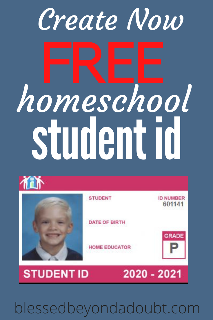 Create your free homeschool student ID today. Hurry while the offer is free. #homeschoolstudentidcards #homeschool #homeschoolcurriculum1stgrade #homeschoolcurriculum2ndgrade #homeschoolcurriculumsecular #homeschoolcurriculumbest #homeschoolresourcescurriculum #homeschoolresources