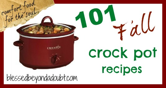 101 Crock Pot Recipes