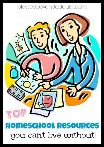 TOP helpful homeschool resources