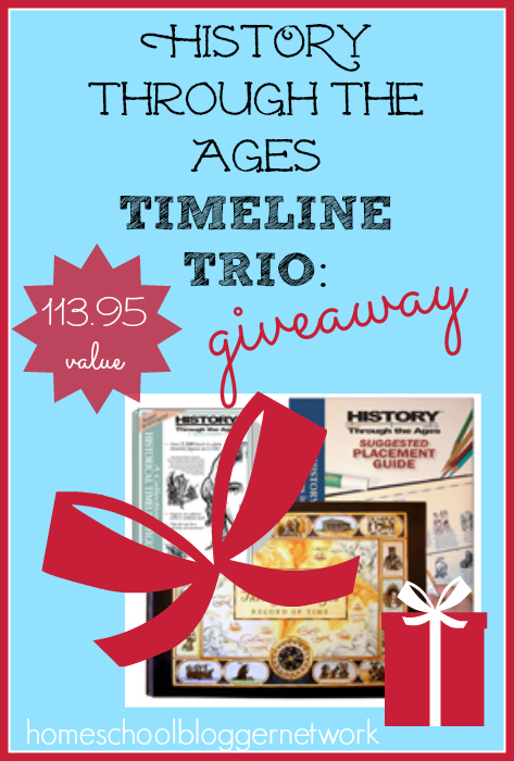 What an awesome way to start the new year with these FUN History timelines. Hurry! Giveaway ends 12/17!
