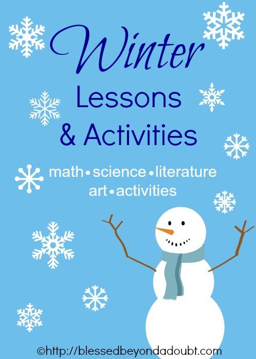 Winter Unit Lessons Activities