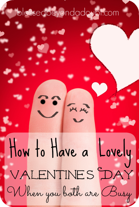 Don't miss out this Valentine's because your're both busy. Check out these 7 way to make it happen this year.