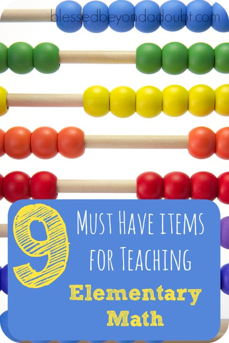 I have been teaching math for 13 years. Here are the must have items for teaching elementary math that helps kids have a true understanding of math.